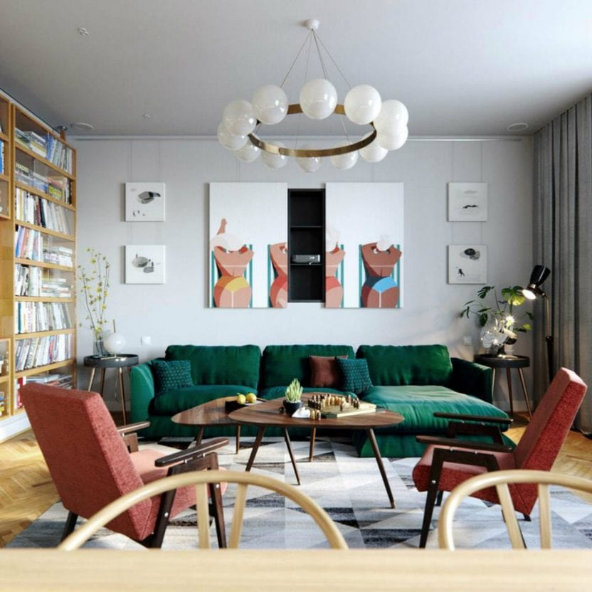Modernhome Ideas: 5 Amazing Tips To Create A Mid-Century Modern Living Room